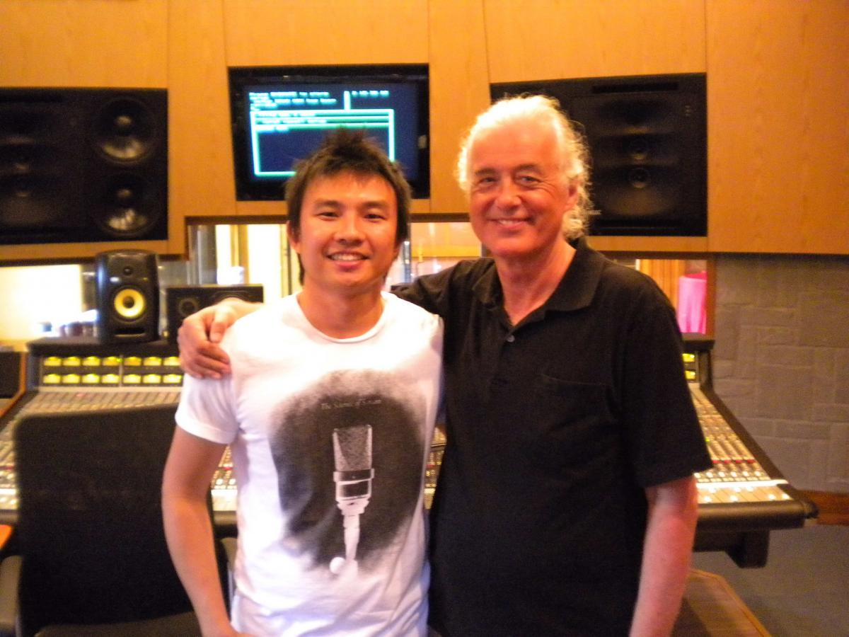 Karma Sound Studios, Jimmy Page