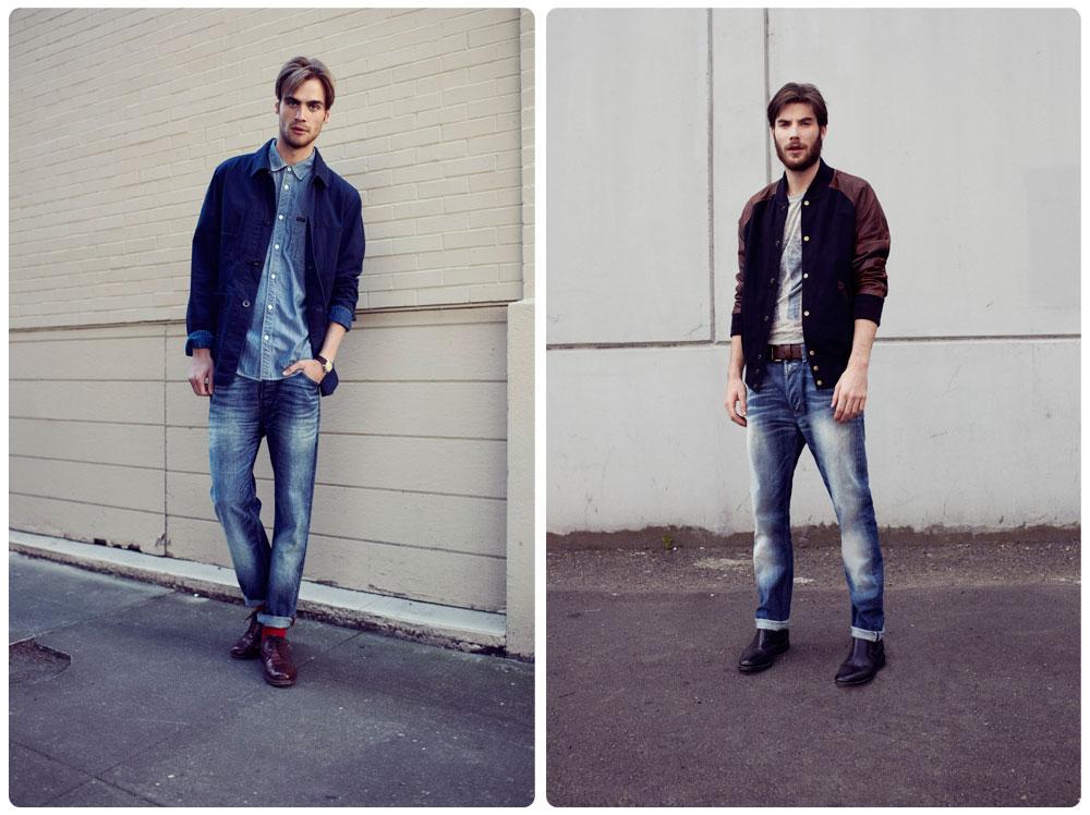 Wrangelr мужская джинсовая коллекция 2012