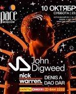 10 октября в Space Moscow выступят John Digweed и Nick Warren - Новость
