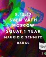 Squat 1 Year: Sven Vath в Москве - Новость