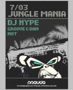 PRAVDA, JUNGLE MANIA, DJ Hype