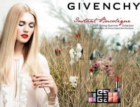 Givenchy Instant Bucolique, Givenchy весна 2012, косметика Givenchy весна 2012