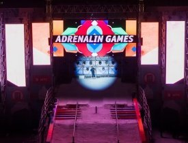Adrenalin Games, MF Group, Adrenalin Games в парке горького