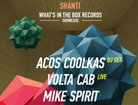 What's In The Box, Highway Records, Volta Cab, Acos CoolKAs, MIKE SPIRIT