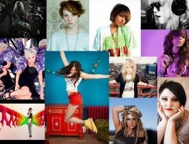 MIA, Kesha, Little Boots, Fever Ray, Eliza Doolittle, Beth Ditto, Uffie