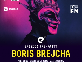 29 сентября  EPIZODE³ pre-party with Boris Brejcha. - Новость