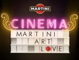 Martini Art Love Cinema в саду Эрмитаж