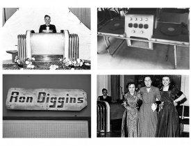 Ron Diggins, первые диджеи, самый первый диджей, первый в мире диджей