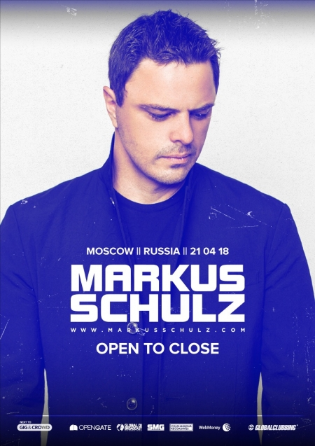 Markus Schulz 21.04 @ The Forge / Moscow