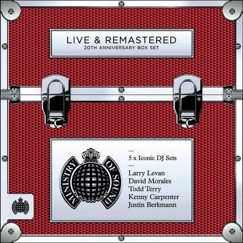 Various – Live & Remastered: 20th Anniversary Box Set (Ministry Of Sound)